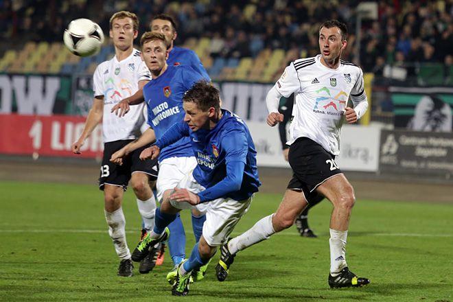 W ubiegłym sezonie, grając jeszcze w I lidze, Energetyk ROW przegrał w Rybniku z Puszczą 0:1