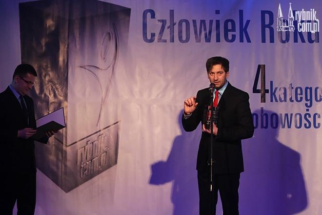 Damian Homola - laureat Nagrody Internautów w 2013 roku