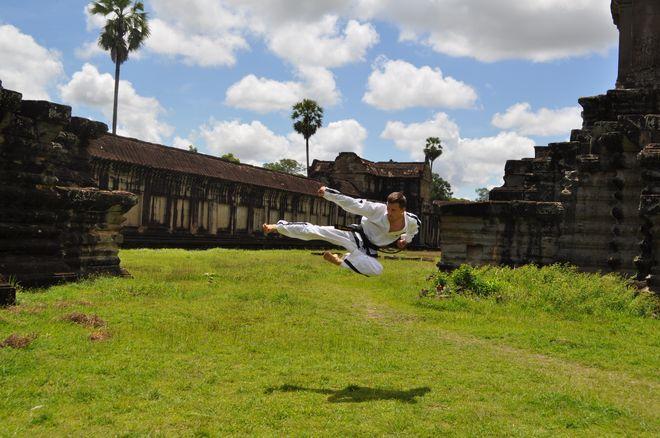 Kambodża - swiątynia Angkor Wat
