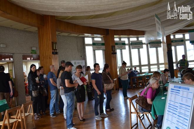 Na targi do Rybnika przybyli nie tylko mieszkańcy naszego miasta, ale również bezrobotni z całego regionu
