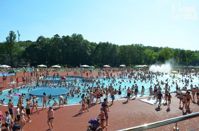 W niedzielę kąpielisko Ruda odwiedziło ponad 8 tysięcy ludzi!