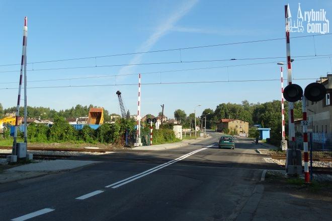 Przejazd kolejowy w Niewiadomiu