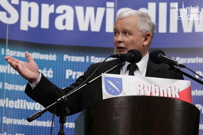 Tuż po spotkaniu Jarosława Kaczyńskiego z rybniczanami, udało nam się porozmawiać z prezesem PiS