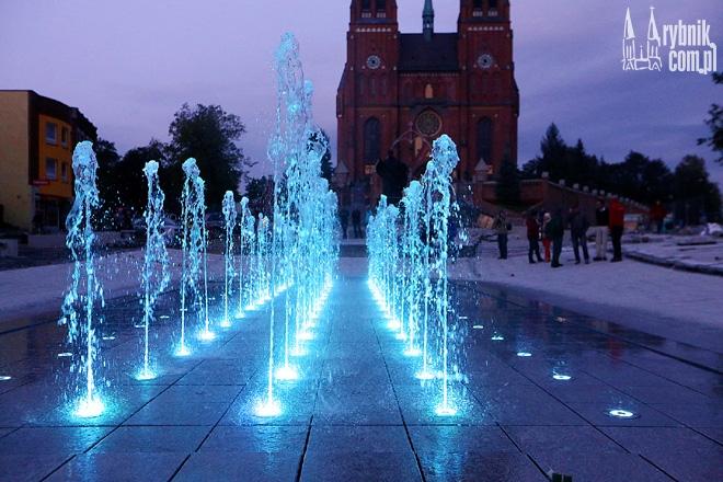 Uczestnicy imprezy będą mieli okazję zobaczyć m.in. podświetlaną fontannę przez bazyliką