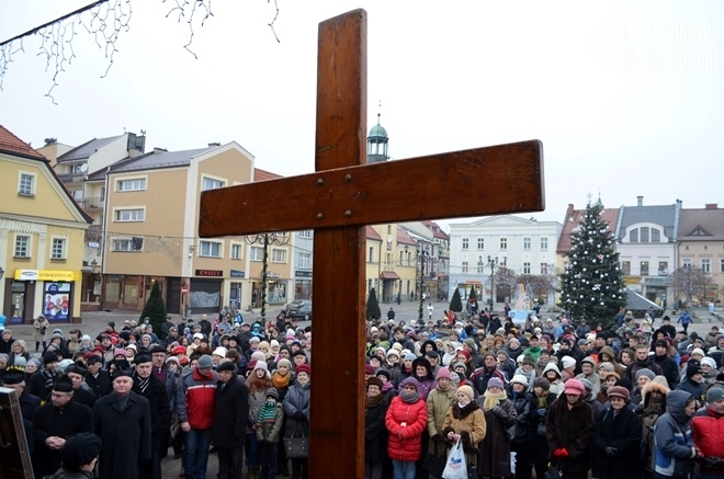 Zdjęcie wykonane w ubiegłym roku podczas peregrynacji Krzyża Światowych Dni Młodzieży oraz Ikony Matki Bożej Salus Populi Romani.