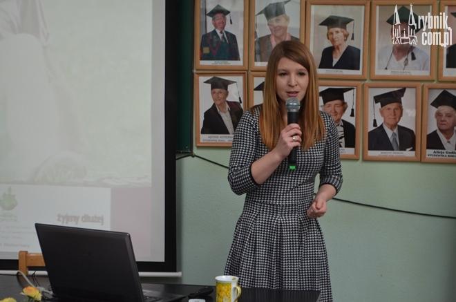 Na zdjęciu: Agnieszka Sadowska – Konczal