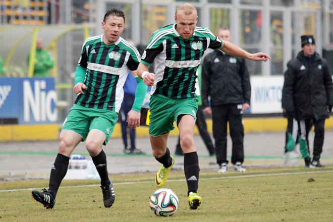 Mariusz Muszalik i Marek Krotofil - pierwszy podawał, a drugi strzelił dziś gola