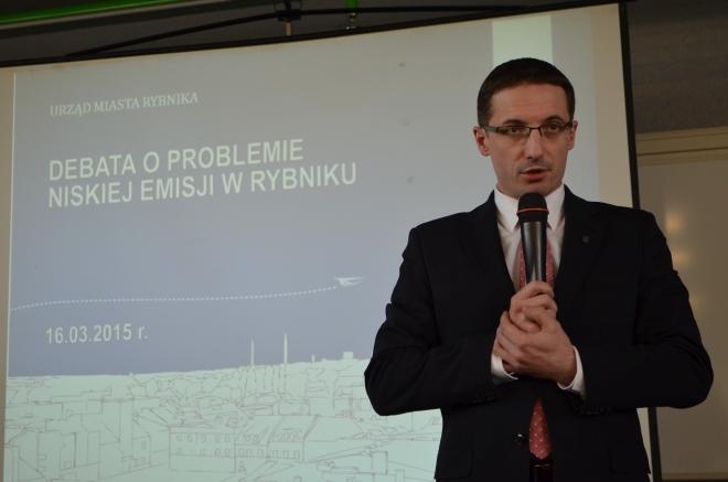 Prezydent Rybnika rozpoczął cykl debat poruszających problem smogu w Rybniku