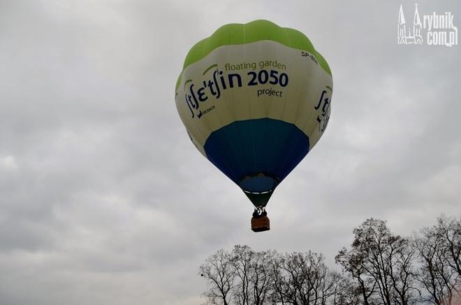 Rano nad Rybnikiem przeleciał balon