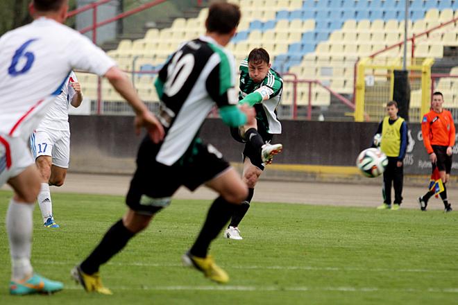 Mariusz Muszalik to najbardziej doświadczony piłkarz ROW-u