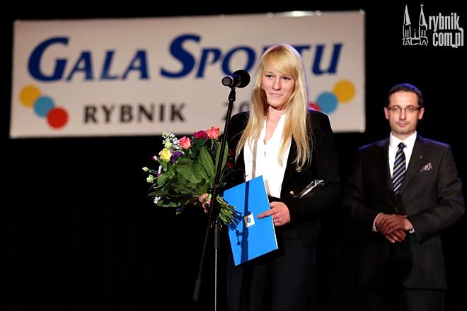 Anna Borowska otrzymała m.in. tytuł Najlepszego Sportowca 2014 roku Miasta Rybnika