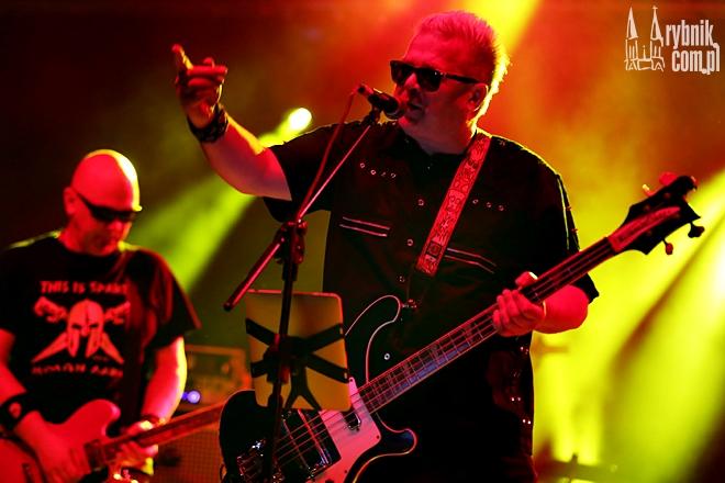 Na zdjęciu Jacek Jędrzejak z zespołu Big Cyc
