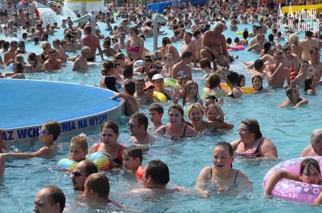 Najlepszą metodą na poradzenie sobie z upałami będzie kąpiel w zimnej wodzie