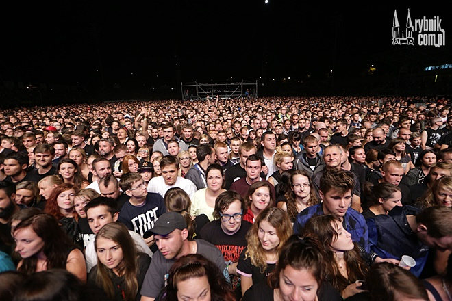 Koncert Linkin Park w Rybniku