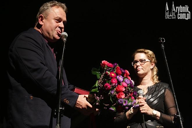 Marek Szołtysek dziękuje Gabrieli Kamińskiej