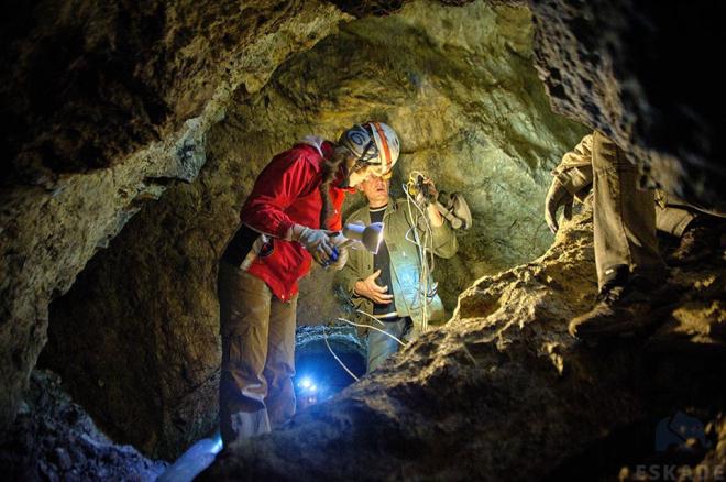Grupa przyjaciół z Janem Duerschlagiem na czele odkryła opuszczoną kopalnię srebra