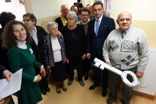 Prezydent Piotr Kuczera dokonał dzisiaj uroczystego otwarcia Dziennego Domu ''Senior-Wigor''