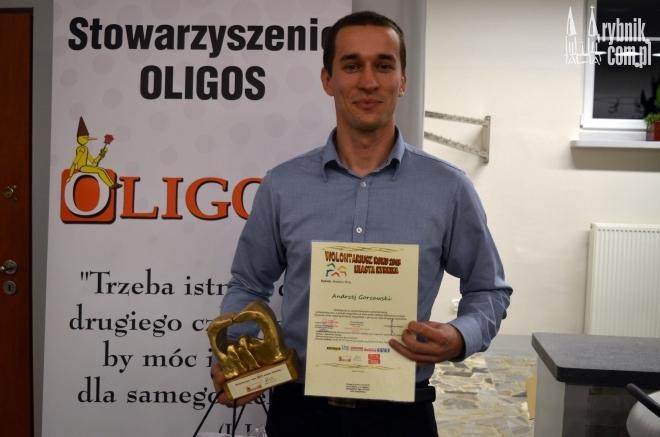 Wolontariuszem Roku został Andrzej Gorzawski