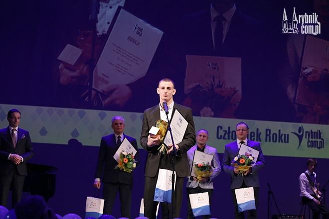Piotr Kuczera - Człowiek Roku Rybnik.com.pl 2015