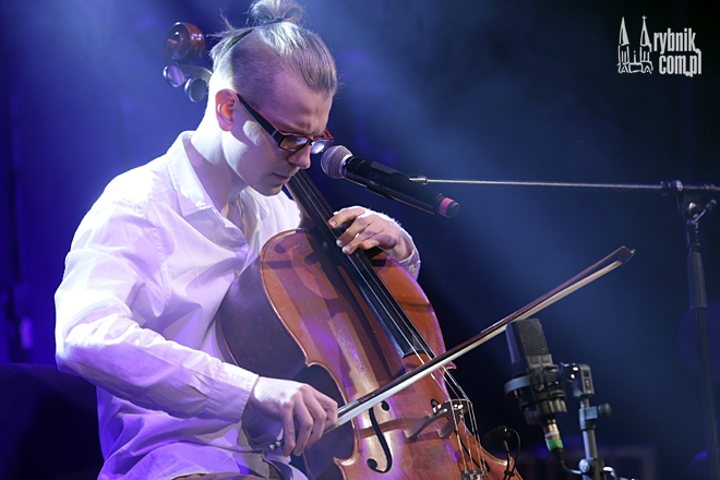 Kamil Owczarek podczas występu