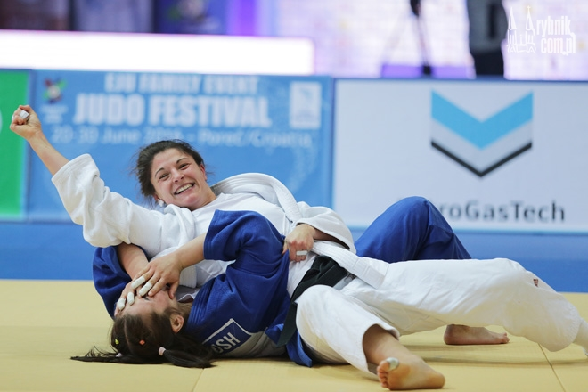 Radość Katarzyny Kłys w finale European Open Warsaw 2016