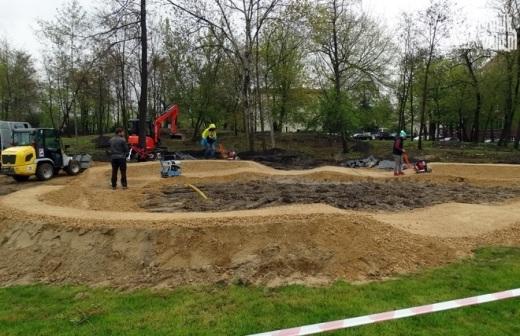 W parku tematycznym powstaje pumptrack