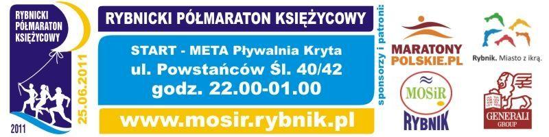 """""""II Rybnickim Półmaratonie Księżycowym"""" odbędzie się w nocy z 25 na 26 czerwca"""