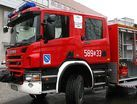 Pożar w zakładzie pracy w Zwonowicach