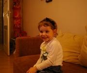 Na zdjęciu: 4-letnia Iga