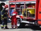 Pożar w hali na Paruszowcu