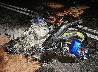 To już kolejne poważne wypadki z udziałem motocyklistów podczas tych wakacji.