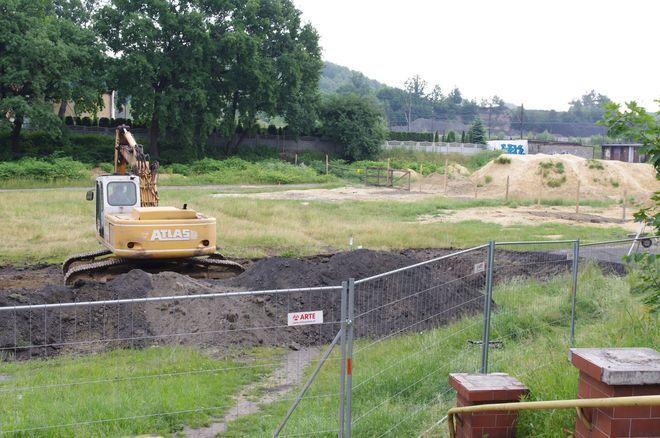 Rozpoczęły się prace budowlane przy realizacji wielofunkcyjnej hali targowej w dzielnicy Czerwionka