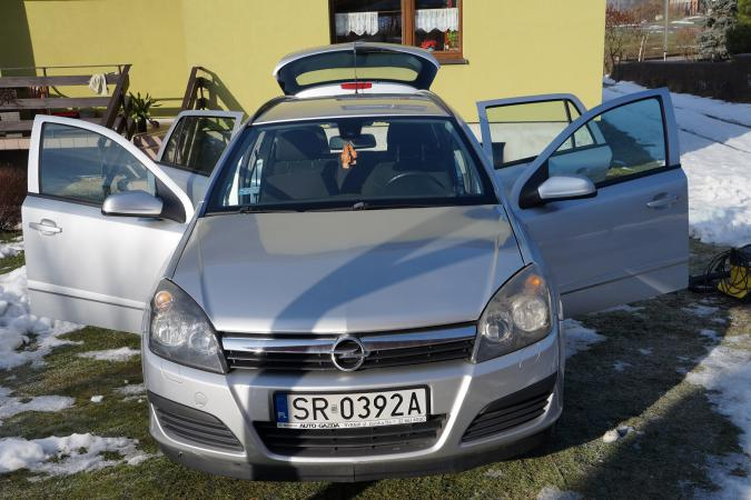 Opel Astra H 2006r 193 tys