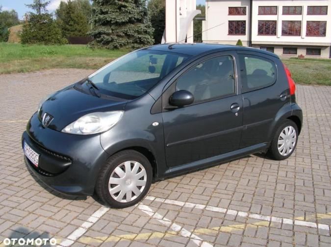 Peugeot 107 -06r. 1.0 *ZADBANY* Salon PL. 5 drzwi, Serwis.