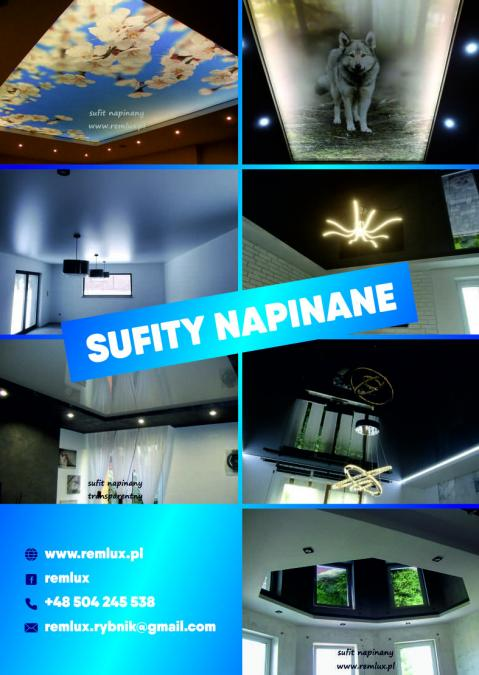 SUFITY NAPINANE, SUFIT NAPINANY, 15 lat gwarancji!!!