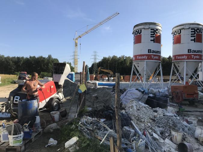 Wylewki cementowe (maszynowo)  Szybkie terminy realizacji!