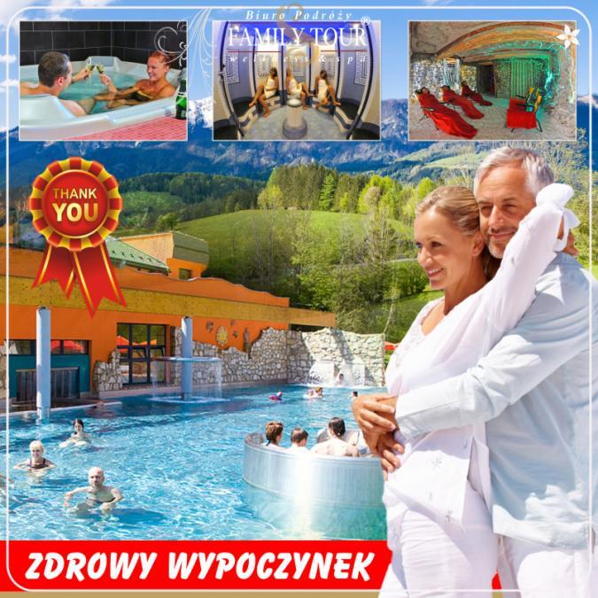 Słowacja 2021 - zdrowy wypoczynek w kurorcie wód termalnych