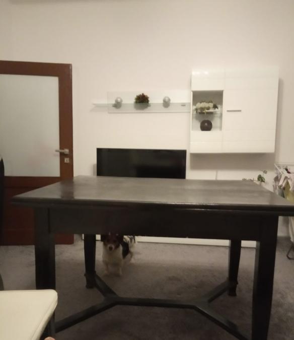 Stół rozkładany+ 4 krzesła