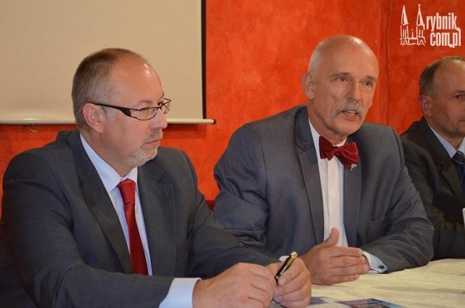 Maciej Urbańczyk (kandydat na senatora) ma mocne poparcie u Janusza Korwin-Mikkego