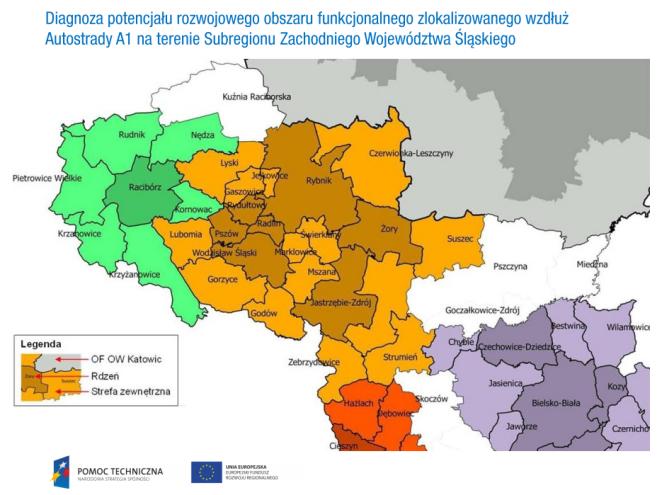 Potencjał tkwi wzdłuż autostrady – samorządowcy podsumowali projekt za prawie 3 mln złotych , mat. prasowe