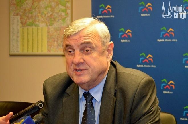Były prezydent Rybnika - Adam Fudali podsumował budżet miasta 2014 roku