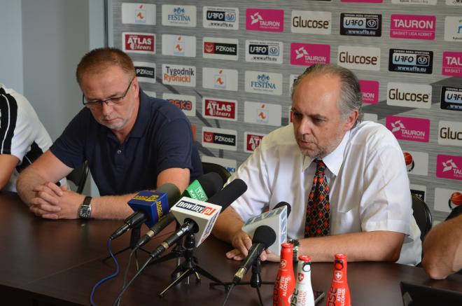 Na zdjęciu: od prawej strony - Kazimierz Mikołajec i Marek Pałus