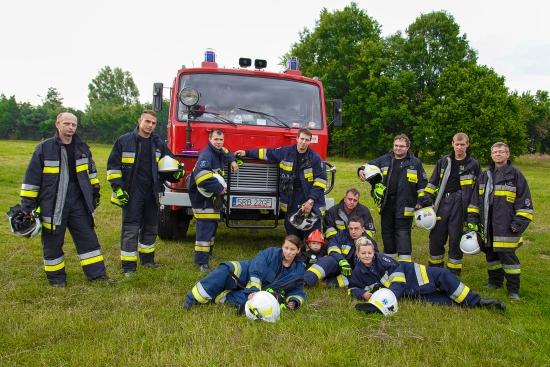 Strażacy z OSP Lyski
