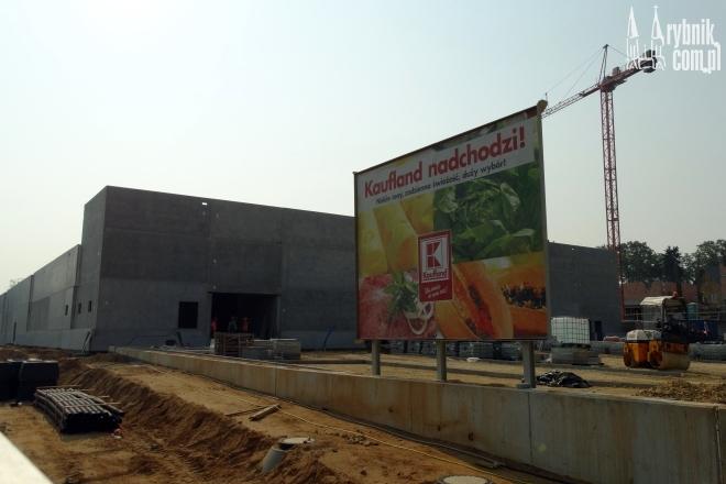 Budowa marketu Kaufland w Kwartale Domus