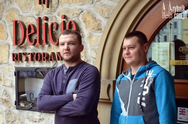 Na zdjęciu od lewej: Łukasz Srokol i Mateusz Rekuć