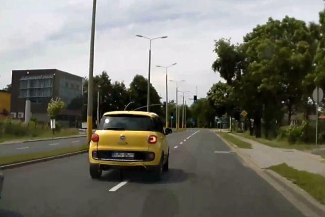 Kazimierz N. nie pojeździ już swoim żółtym fiatem 500 L