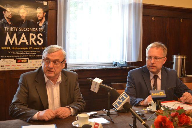 Prezydent Adam Fudali i Janusz Stefański z Prestige MJM podali szereg szczegółów nt. koncertu 30STM