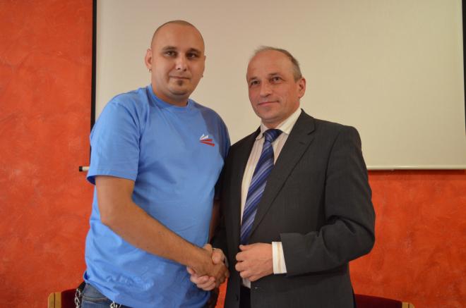 Wojciech Burek (Stonoga Partia Polska) poparł w wyborach Adama Pustelnika (KORWIN)