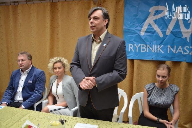 Aleksander Larysz chce pobudzić dzielnice Rybnika do działania