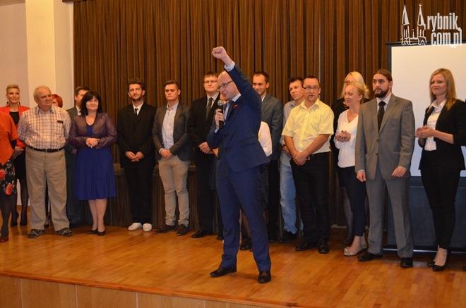 Piotr Masłowski i Forum Obywateli Rybnika liczą na sukces w wyborach